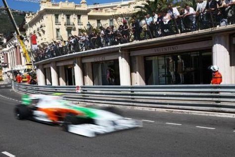 Vitantonio Liuzzi erwischte dieses Mal ein Qualifying ohne Probleme im Verkehr