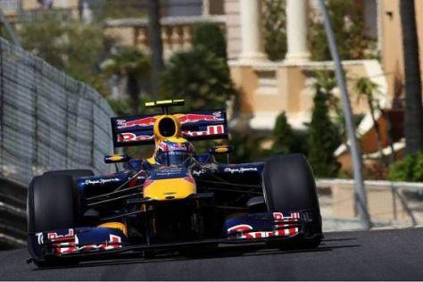 """Mark Webber sicherte sich im Qualifying Monacos berühmte """"halbe Miete"""""""