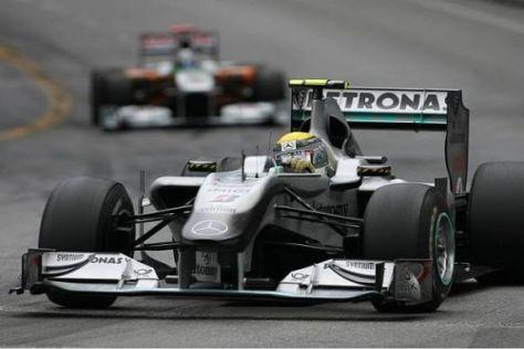Nico Rosberg hatte sich von seinem Auftritt in Monte Carlo mehr erhofft