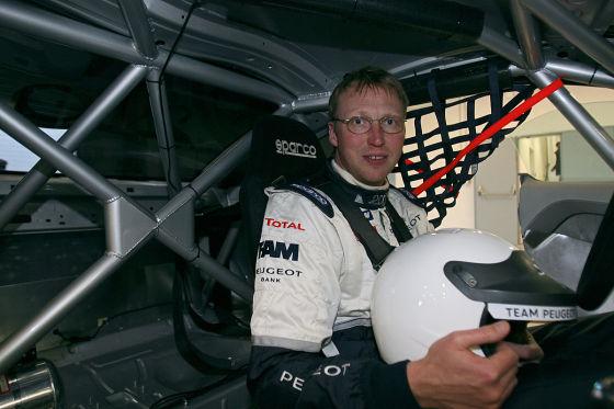 Henning Klipp im Peugeot RCZ 24h