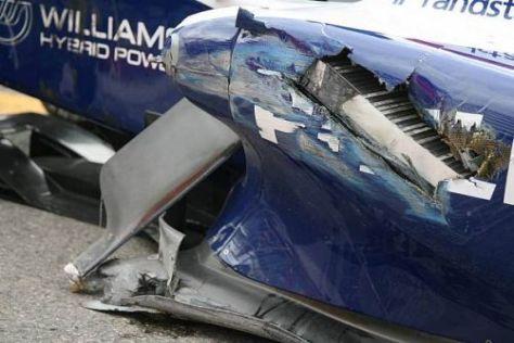 Das Williams-Team hat derzeit mit jeder Menge Schrott zu kämpfen