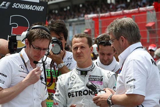 GP Monco 2010: Diskussionen um Schumi