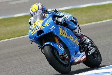 Álvaro Bautista hat mit der Suzuki und seiner Verletzung zu kämpfen