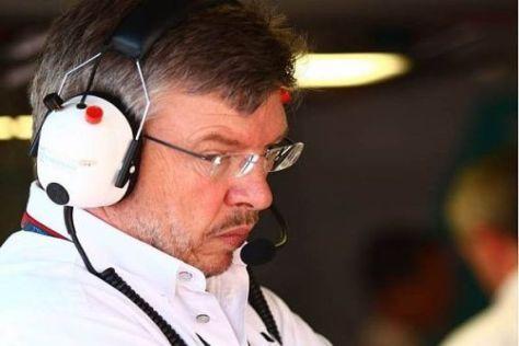 Mercedes-Teamchef Ross Brawn sieht sich und die Silberpfeile auf einem guten Weg