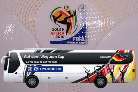 WM 2010: Die Busse der Teams