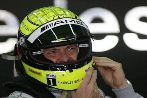 Ralf Schumacher konzentrierte sich im ersten Training auf die Basisarbeit