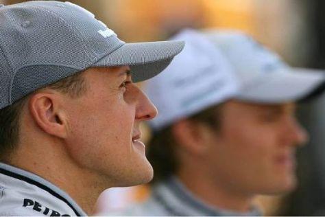 Wer setzt sich bei Mercedes durch: Michael Schumacher oder Nico Rosberg?
