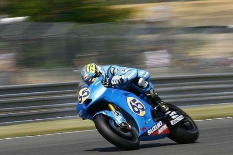 Loris Capirossi geht am Sonntag als Suzuki-Einzelkämpfer an den Start