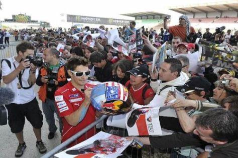 Nicky Hayden hat in Le Mans noch nie so viele Fans erlebt wie dieses Jahr