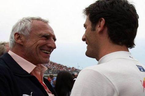 Dietrich Mateschitz ist mit den Leistungen von Mark Webber sehr zufrieden