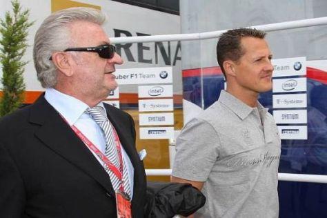 Manager Willi Weber steht nach wie vor voll und ganz hinter Michael Schumacher