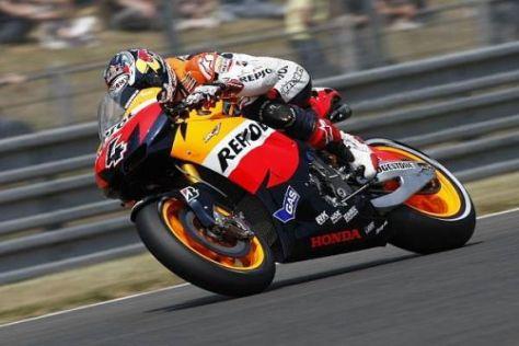 Platz drei: Andrea Dovizioso war beim Grand Prix in Frankreich in Topform