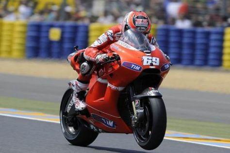 Nicky Hayden liegt in der Gesamtwertung auf dem guten fünften Rang