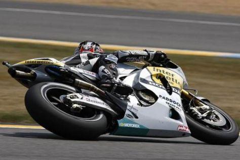 Hiroshi Aoyama musste sich in Le Mans am Ende mit Platz elf begnügen