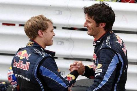 Wie lange währt noch die Ruhe zwischen Mark Webber und Sebastian Vettel?