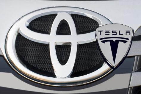 Toyota und Tesla kooperieren