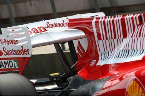 In Istanbul testet Ferrari eine neue Version seine F-Schacht-Systems