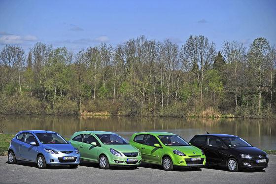Opel Corsa Mazda2 Renault Clio VW Polo