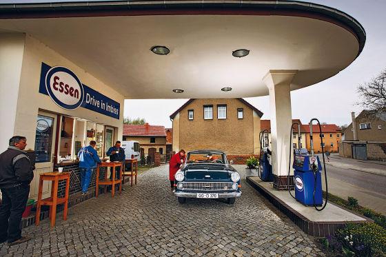 Ehemalige Tankstelle in Gransee