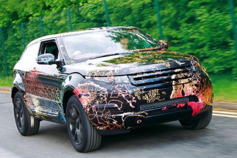 Erlkönig Range Rover LRX