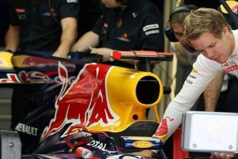 "Sebastian Vettel nahm am Freitag Kontakt zu ""Randy Mandy"" auf"