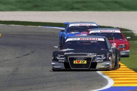 Die Audi-Piloten wollen auch beim Rennen auf dem Lausitzring viele Punkte holen