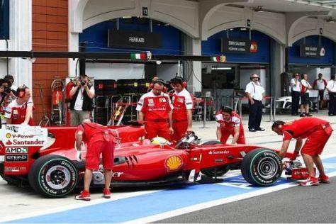 Ferrari zeigt ausgerechnet vor dem Jubiläums-Rennen Schwäche