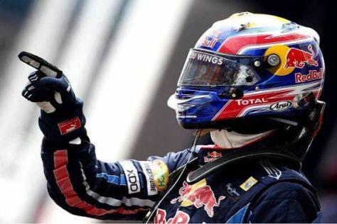 Dritte Pole in Folge: Mark Webber zeigte es mal wieder allen...