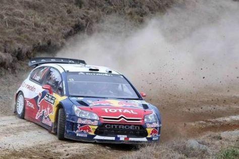 Sébastien Loeb will sich seinem jungen Teamkollegen nicht geschlagen geben