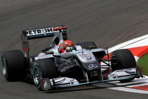 Michael Schumacher erreichte in der Türkei sein bestes Saisonergebnis