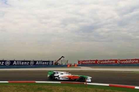 Adrian Sutil kam in der Schlussphase doch noch in die Punkteränge nach vorn