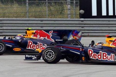 Durch diese Kollision hat Red Bull heute viele wichtige Punkte verloren