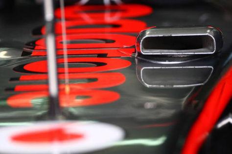 Das Original McLaren F-duct