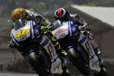 Valentino Rossi und Jorge Lorenzo sollen auch in Mugello siegen