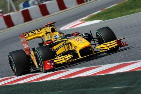 Der Renault R30 soll demnächst auch mit einem F-Schacht versehen werden