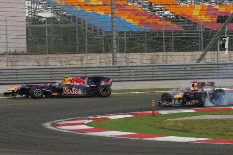 Laut David Coulthard sind beide Fahrer Schuld an der Kollision