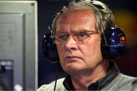Hört im Boxenfunk immer genau hin: Red-Bull-Motorsport-Berater Helmut Marko
