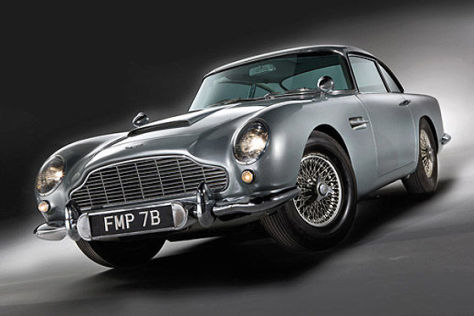 Aston Martin DB5 von James Bond