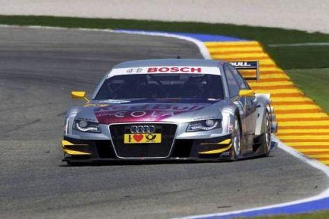 Audi hat in Valencia eine gute Basisabstimmung für wenig Grip erarbeitet