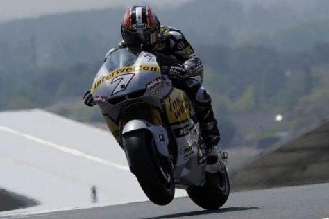 250er-Weltmeister Hiroshi Aoyama hat noch mit der Honda zu kämpfen