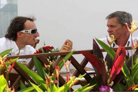Robert Kubica und Daniele Morelli konzentrieren sich ganz auf Renault
