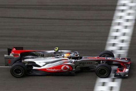 Lewis Hamilton ist begeistert von den Fortschritten des britischen McLaren-Teams