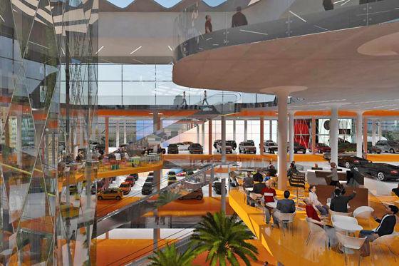 56 Restaurants und Cafés füttern die Besucher durch.