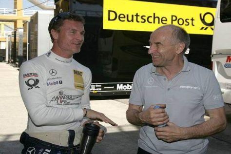 David Coulthard vertraut auf die Erfahrung von Peter Mücke und seinem Team