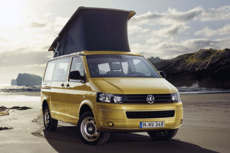 volkswagen t5 california beach 2011 facelift. Black Bedroom Furniture Sets. Home Design Ideas