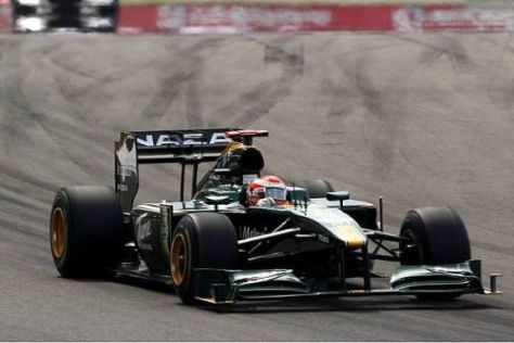 Jarno Trulli will den Lotus-Cosworth T127 in Kanada ins Ziel bringen