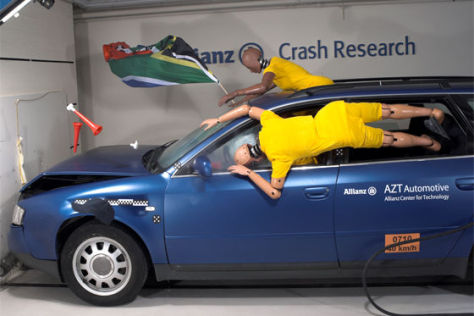 Allianz Autokorso-Crashtest