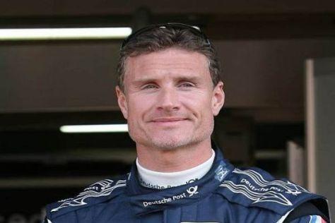 David Coulthard hat seine ersten Runden auf dem Lausitzring absolviert