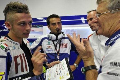 Kein Druck seitens Yamaha: Valentino Rossi soll sich in Ruhe erholen können