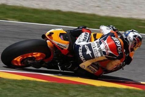Daniel Pedrosa sorgte für den ersten Honda-Sieg des Jahres 2010